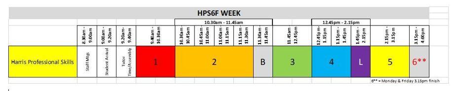 Hps6f school day