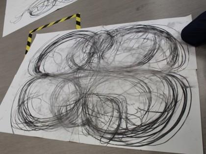 Heather Hansen Kinetic Drawing - Student Work